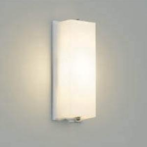 コイズミ照明 LED一体型勝手口灯 防雨型 白熱球60W相当 電球色 マルチタイプ人感センサ付 AU38388L