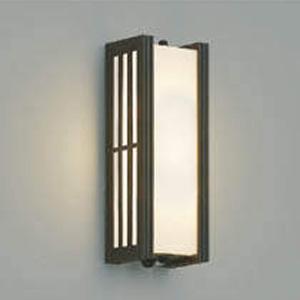 コイズミ照明 LED一体型ポーチ灯 防雨型 白熱球60W相当 電球色 マルチタイプ人感センサ付 ウェンゲ AU38393L