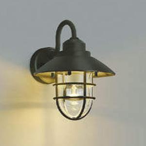 コイズミ照明 LEDポーチ灯 防雨型 白熱球60W相当 電球色 茶 AU38413L
