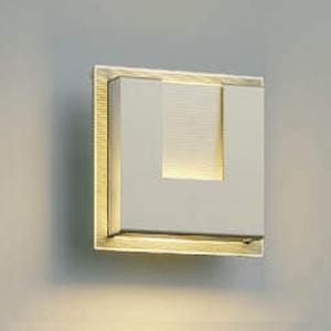 コイズミ照明 LED一体型ポーチ灯 《E.L.H.®》 防雨型 白熱球40W相当 電球色 調光タイプ ウォームシルバー AU38538L