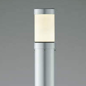 コイズミ照明 LEDガーデンライト 防雨型 白熱球40W相当 電球色 シルバーメタリック AU38585L