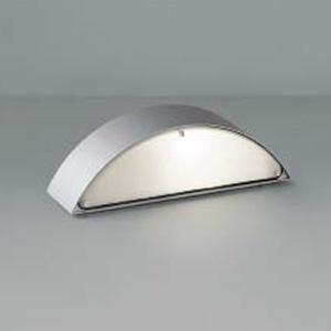 コイズミ照明 LED門柱灯 防雨型 壁面・門柱取付用 両面照射タイプ 白熱球40W相当 電球色 シルバーメタリック AU38604L