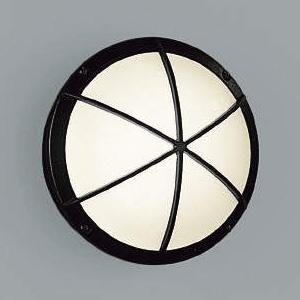 コイズミ照明 LEDポーチ灯 防雨型 白熱球40W相当 電球色 黒 AU38607L