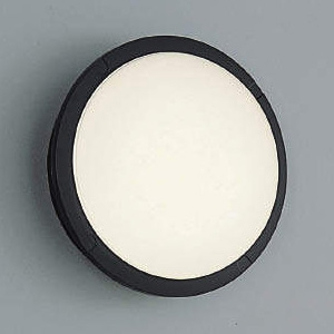 コイズミ照明 LEDポーチ灯 防雨型 白熱球40W相当 電球色 黒 AU38609L