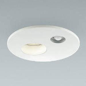 コイズミ照明 LED一体型軒下ダウンライト ベースタイプ 防雨型 高気密SGⅠ形 埋込穴φ125 白熱球60W相当 電球色 広角配光 タイマー付人感センサ付 ファインホワイト AU38082L