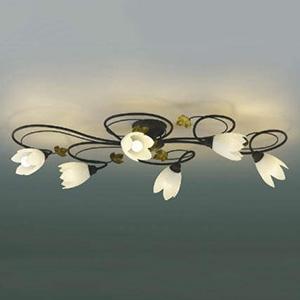 コイズミ照明 LEDシャンデリア 《Spirale》 ~4.5畳用 電球色 AA39798L