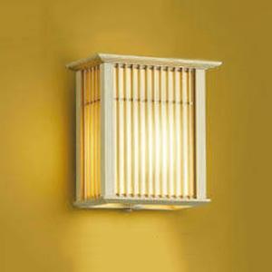 コイズミ照明 LED和風玄関灯 防雨型 白熱球40W相当 電球色 タイマー付人感センサ付 AU39961L