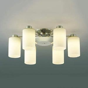 コイズミ照明 LED一体型シャンデリア 《Simprare》 ~8畳用 AA40056L 調光タイプ 電球色 リモコン付 交換無料 驚きの値段