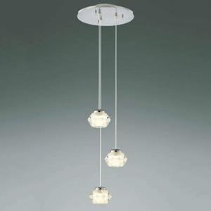~4.5畳用 コイズミ照明 電球色 AP40121L 傾斜天井対応 《Twinly》 LED一体型ペンダントライト 調光タイプ 吹き抜け用