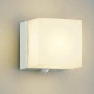 コイズミ照明 LEDポーチ灯 防雨型 白熱球40W相当 電球色 タイマー付人感センサ付 オフホワイト AU40264L