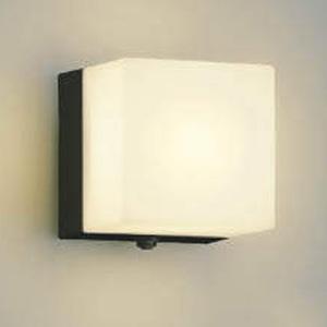 コイズミ照明 LEDポーチ灯 防雨型 白熱球40W相当 電球色 タイマー付人感センサ付 黒 AU40265L