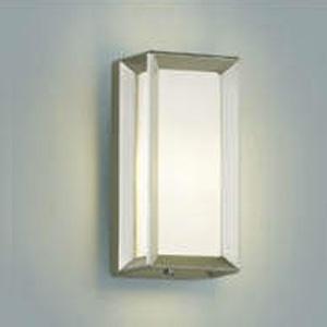 コイズミ照明 LEDポーチ灯 防雨型 天井・壁面・門柱取付用 白熱球40W相当 電球色 ウォームシルバー AU40415L