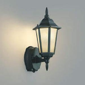 コイズミ照明 LEDポーチ灯 防雨型 白熱球40W相当 電球色 タイマー付人感センサ付 AU40441L