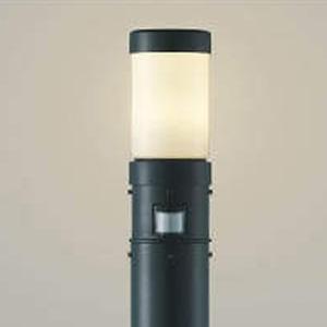 コイズミ照明 LEDガーデンライト 防雨型 白熱球40W相当 電球色 人感センサ付 黒 AU41966L