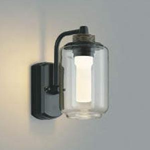 コイズミ照明 LED一体型ポーチ灯 《One's Lamp #2EX》 防雨型 白熱球40W相当 電球色 調光タイプ クリア AU42202L
