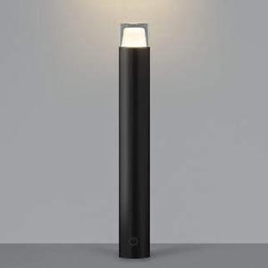 コイズミ照明 LED一体型ガーデンライト 防雨型 高さ745mm 白熱球60W相当 電球色 調光タイプ 黒 AU42260L
