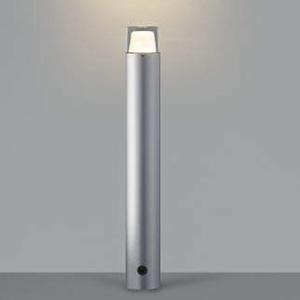 コイズミ照明 LED一体型ガーデンライト 防雨型 高さ745mm 白熱球60W相当 電球色 調光タイプ シルバーメタリック AU42261L