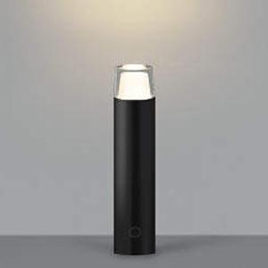 コイズミ照明 LED一体型ガーデンライト 防雨型 高さ400mm 白熱球60W相当 電球色 調光タイプ 黒 AU42263L