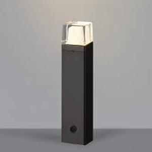コイズミ照明 LED一体型ガーデンライト 防雨型 高さ400mm 白熱球60W相当 電球色 黒 AU42272L