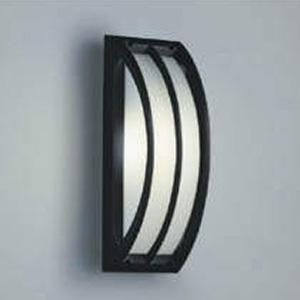 コイズミ照明 LED一体型勝手口灯 防雨型 天井・壁面・門柱取付用 白熱球40W相当 電球色 調光タイプ 黒 AU42353L