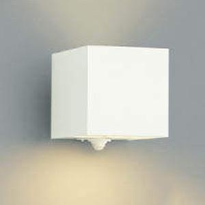 コイズミ照明 LED一体型ポーチ灯 防雨型 上下面照射タイプ 白熱球40W相当 電球色 マルチタイプ人感センサ付 オフホワイト AU42361L
