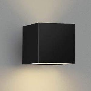 コイズミ照明 LED一体型ポーチ灯 防雨型 上下面照射タイプ 白熱球40W相当 電球色 調光タイプ 黒 AU42366L