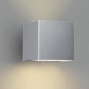 コイズミ照明 LED一体型ポーチ灯 防雨型 上下面照射タイプ 白熱球40W相当 電球色 調光タイプ シルバーメタリック AU42367L