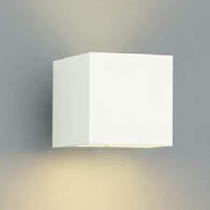 コイズミ照明 LED一体型ポーチ灯 防雨型 上下面照射タイプ 白熱球40W相当 電球色 調光タイプ オフホワイト AU42369L