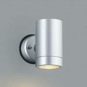 コイズミ照明 LED一体型スポットライト 防雨型 白熱球100W相当 電球色 調光タイプ シルバーメタリック AU42385L