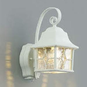 コイズミ照明 LED一体型ポーチ灯 防雨型 白熱球60W相当 電球色 マルチタイプ人感センサ付 白 AU42404L