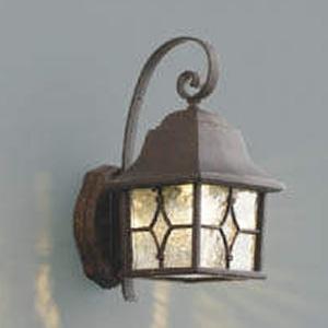 コイズミ照明 LED一体型ポーチ灯 防雨型 白熱球60W相当 電球色 調光タイプ アンティーク AU42405L