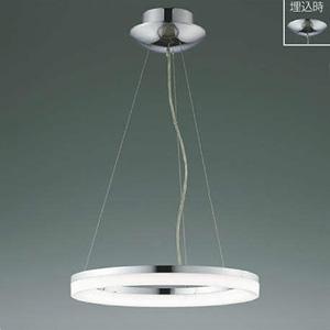 コイズミ照明 LED一体型ペンダントライト 《Modelish Ring》 ~8畳用 直付・埋込取付タイプ 昼白色 調光タイプ リモコン付 AP42696L