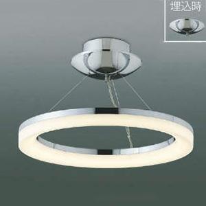 コイズミ照明 LEDシーリングライト 《Modelish Ring》 ~8畳用 直付・埋込取付タイプ 電球色 調光タイプ リモコン付 AH42699L