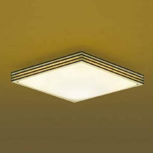 コイズミ照明 LED小型シーリングライト 《煌籠》 FHC28W相当 電球色 調光タイプ ウェンゲ AH43044L