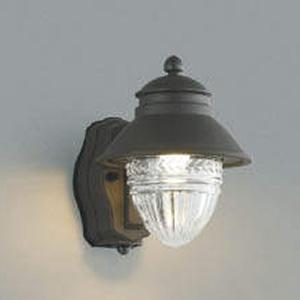 コイズミ照明 LED一体型ポーチ灯 防雨型 白熱球60W相当 電球色 マルチタイプ人感センサ付 透明 AU43155L