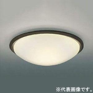 コイズミ照明 LED小型シーリングライト 内玄関用 FHC28W相当 電球色 調光タイプ シックブラウン AH43169L
