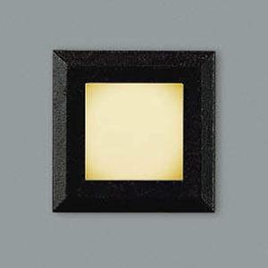 コイズミ照明 LED一体型フットライト 防雨型 電球色 黒 AU44100L
