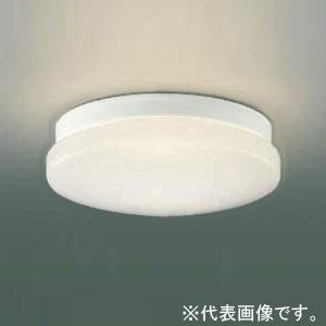 コイズミ照明 LED一体型浴室灯 防雨・防湿型 壁面・天井面取付用 FCL30W相当 電球色 ON-OFFタイプ 傾斜天井対応 AU45014L