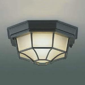コイズミ照明 LED一体型軒下シーリングライト 防雨型 白熱球100W相当 電球色 AU45050L
