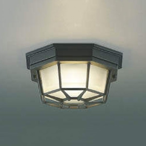 コイズミ照明 LED一体型軒下シーリングライト 防雨型 天井・壁面取付用 白熱球60W相当 電球色 AU45051L