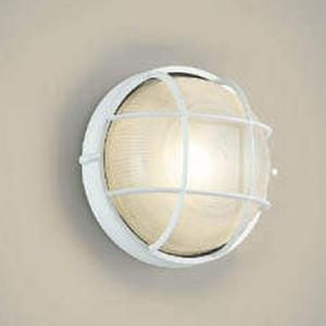 コイズミ照明 LED一体型ポーチ灯 防雨型 白熱球60W相当 電球色 白 AU45052L