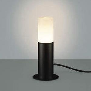 コイズミ照明 LEDガーデンライト 防雨型 スタンドタイプ 白熱球60W相当 電球色 黒 AU45177L