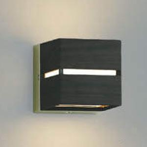 コイズミ照明 LED一体型ポーチ灯 防雨型 壁面・門柱取付用 上下面照射タイプ 白熱球40W相当 電球色 自動点滅器付 シックブラウン AU45204L