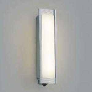 コイズミ照明 LED一体型ポーチ灯 防雨型 白熱球40W相当 電球色 マルチタイプ人感センサ付 シルバーメタリック AU45229L