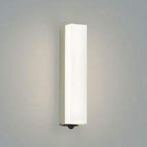 コイズミ照明 LED一体型ポーチ灯 防雨型 白熱球40W相当 電球色 マルチタイプ人感センサ付 ウォームシルバー AU45231L