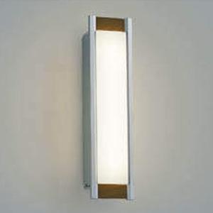コイズミ照明 LED一体型ポーチ灯 防雨型 白熱球40W相当 電球色 調光タイプ シルバーメタリック/ウォームブラウン AU45232L