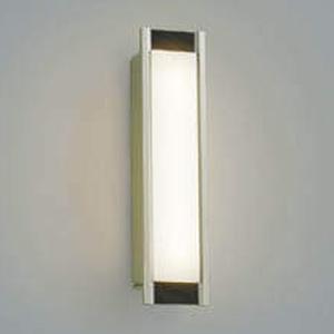 コイズミ照明 LED一体型ポーチ灯 防雨型 白熱球40W相当 電球色 調光タイプ ウォームシルバー/シックブラウン AU45233L