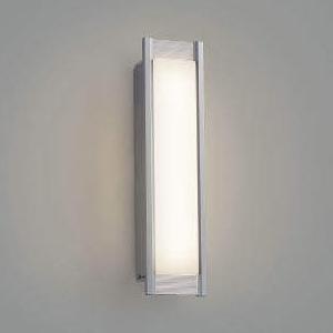 コイズミ照明 LED一体型ポーチ灯 防雨型 白熱球40W相当 電球色 調光タイプ シルバーメタリック AU45234L