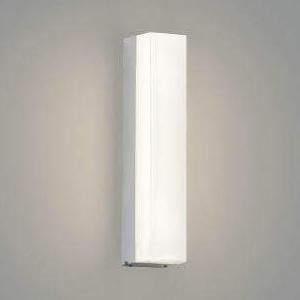 コイズミ照明 LED一体型ポーチ灯 防雨型 白熱球40W相当 電球色 調光タイプ シルバーメタリック AU45235L