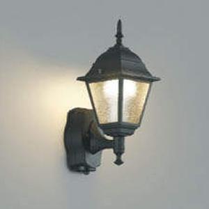 コイズミ照明 LEDポーチ灯 防雨型 白熱球40W相当 電球色 タイマー付人感センサ付 AU45237L